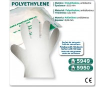 gant POLYETHYLENE TRANSPARENT