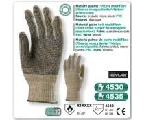 Gant anti coupure KEVLAR tricoté multi fibre kevlar nylon