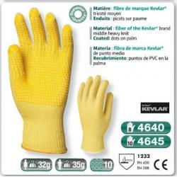 Gant anti coupure KEVLAR tricoté moyen