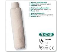 Manchette anti chaleur NOMEX tricoté elastique 40 cm