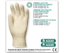 GANT tricoté coton epais avec poignet