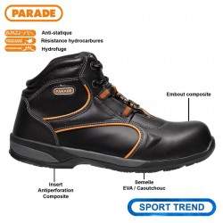 Chaussure de sécurité PARADE montante RAPIDA S3 composite