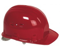 Casque de chantier CLASSIC rouge