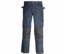 Pantalon de travail looké jean